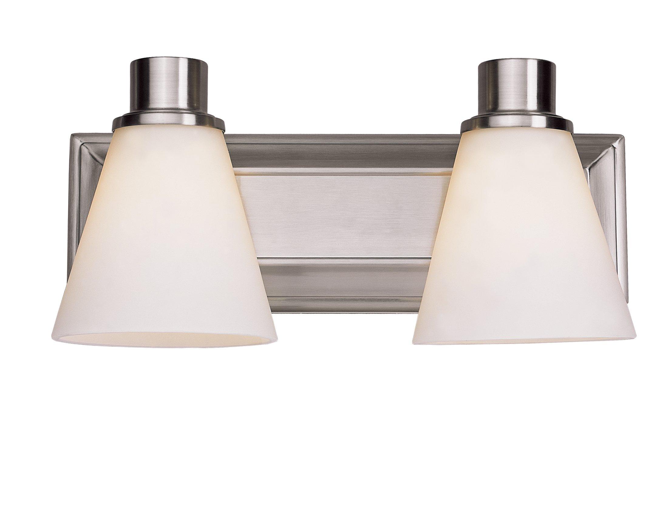 Trans Globe Lighting 9692 SN Indoor  Arago 14'' Vanity Bar, Satin Nickel