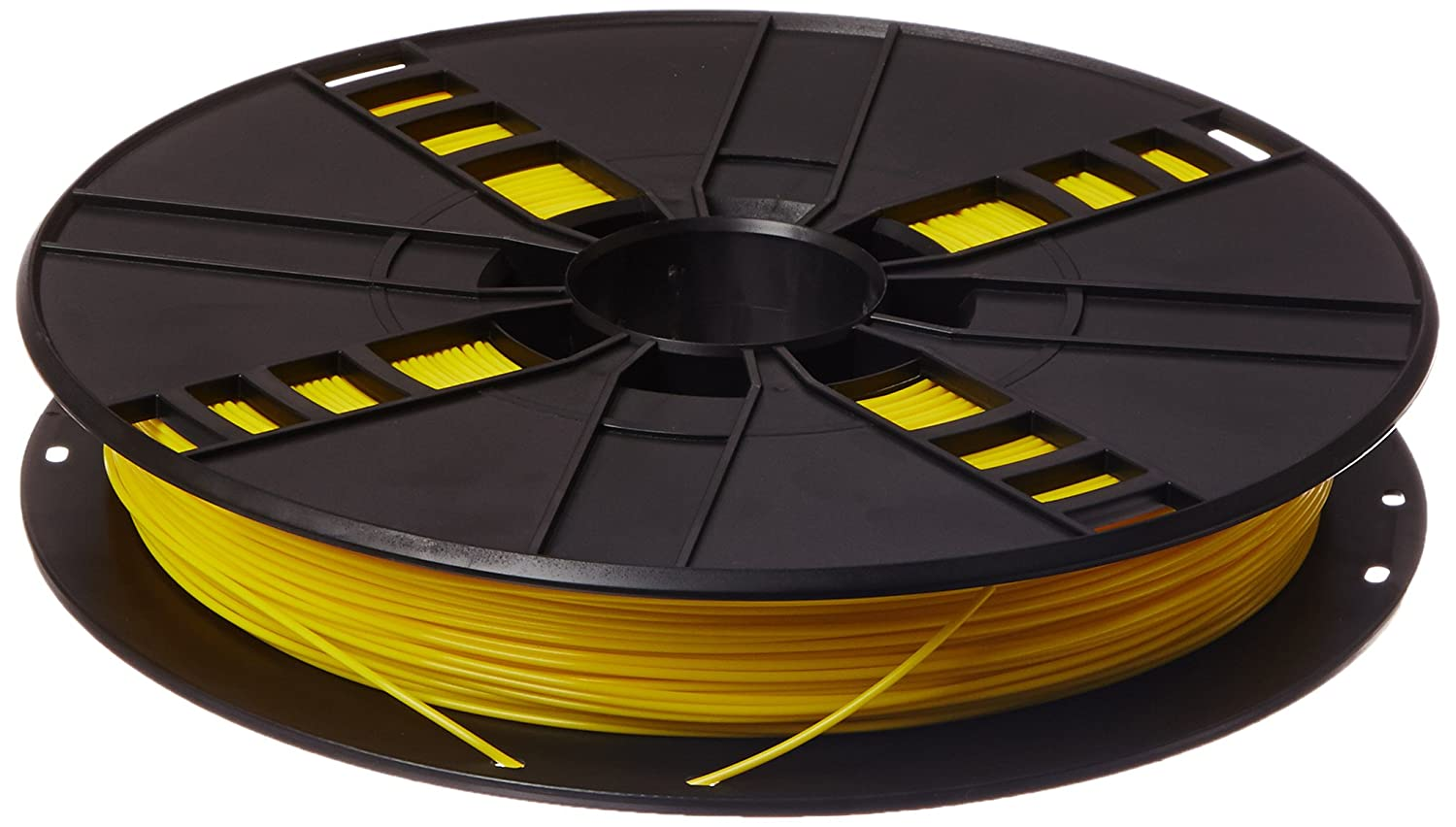 MakerBot MP05781 Plastik Spool, PLA, 9 kg, 1,75 mm, True Gelb B00SNM1O52 Filament-3D-Druckmaterialien