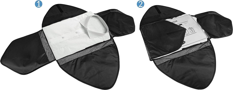 TRAVANDO /® Hemdentasche mit Falthilfe Koffer Hemden Knitterfrei Hemd packen Blusen Kleidersack Kleidertasche Packtasche Hemdenh/ülle Reiseutensilien Hemdtasche Organizer Business Anzug