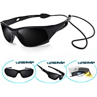 2ccb3ee12e8 VATTER TR90 Unbreakable Polarized Sport Sunglasses For Kids Boys Girls Youth