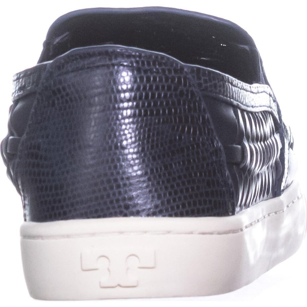 7937048d236c Amazon.com  Tory Burch Huarache Slip On Woven Sneakers