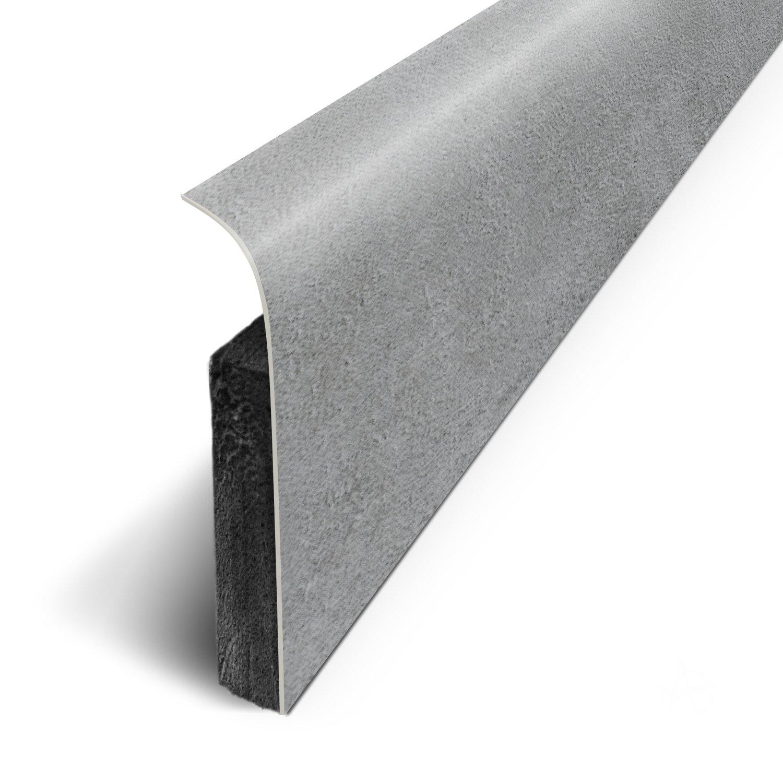 - B/éton Noir Ref: D180525D 1.1cm Plinthes Adh/ésives Long.120 cm x Haut.7 cm x Ep 3M lot de 5
