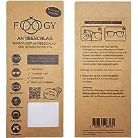 FOOGY Paño de microfibra antivaho para gafas | paño de limpieza en seco | no se necesitan líquidos adicionales