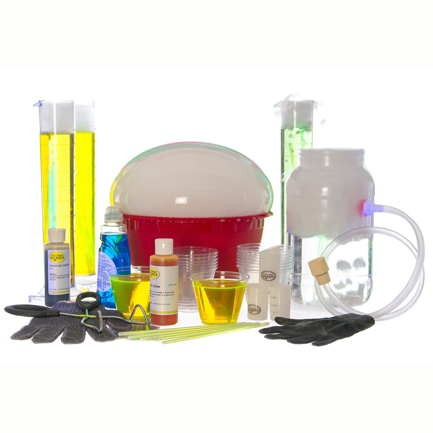 Steve Spangler's The Ultimate Dry Ice Science Kit - Science Experiment Kit for Kids and Classroom