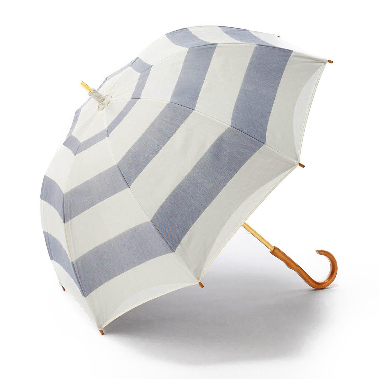 晴雨兼用 二重張り UV木棒日傘(ロング)