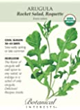 Arugula Certified Organic Heirloom Seeds 200 Seeds