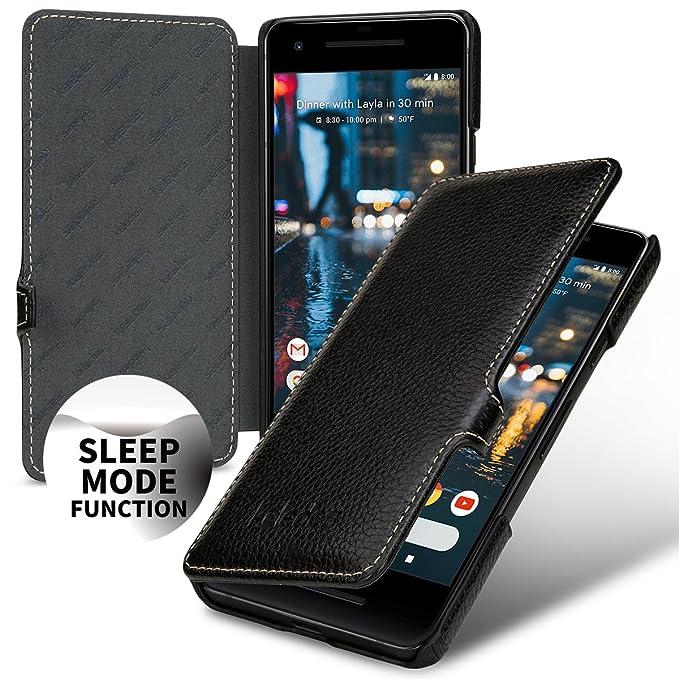 new concept 5cc52 27532 Amazon.com: Google Pixel 2 Genuine Leather case Wallet,Google Pixel ...