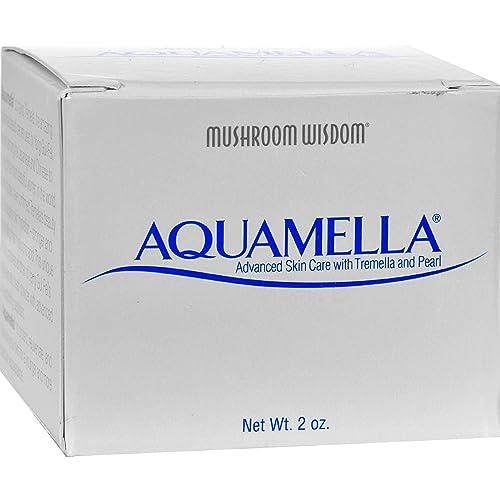 Mushroom Wisdom Aquamella – 2 oz – Advanced Skin Care with Tremella and Pearl – Paraben Free
