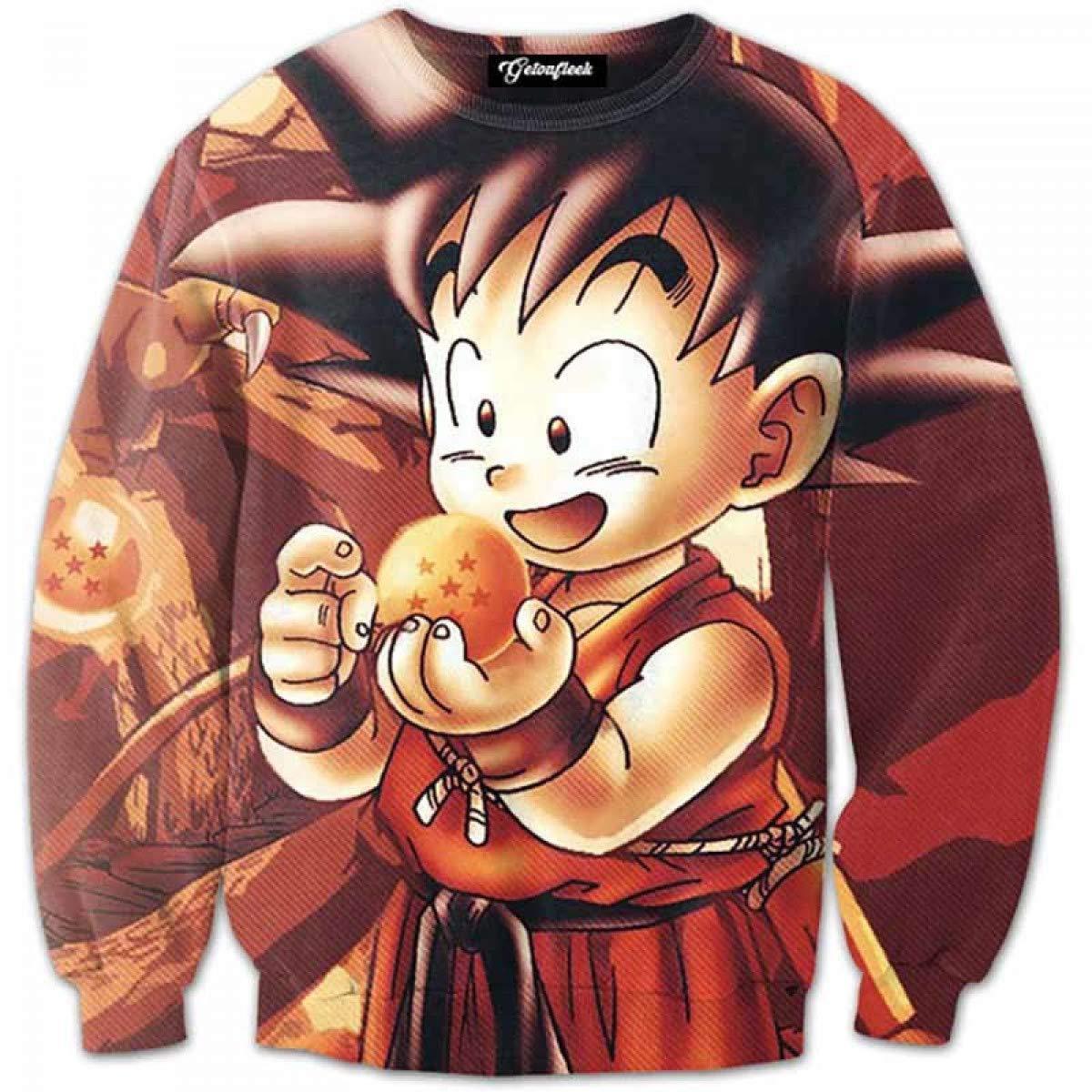 Sudadera Anime Super 3D Dragon Ball Hombres Goku Ultra 3D ...