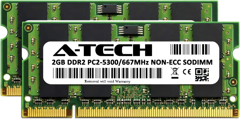 """6GB PC2-5300 DDR2 RAM MacBook Pro/""""Core 2 Duo/"""" 2.4 15/"""" MB133LL//A A1260 2GB+4GB"""