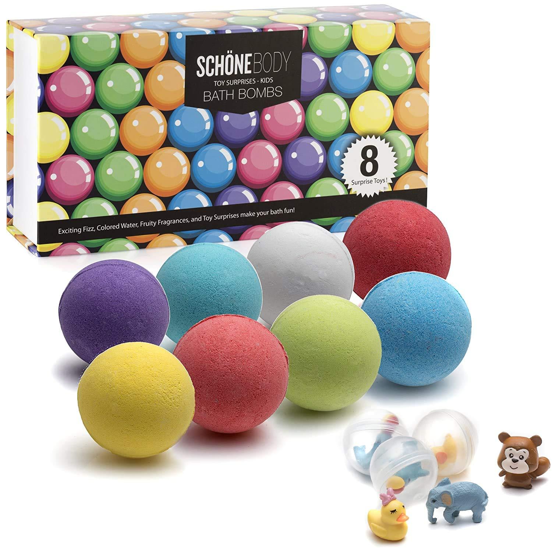 12 x Kids Natural Bath Bombs Create a fizzing bath time adventure Children/'s Baff Bombz Vegan