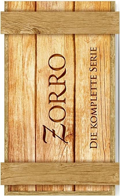 Zorro - Die komplette Serie Limited Holzbox Edition 14 DVDs ...