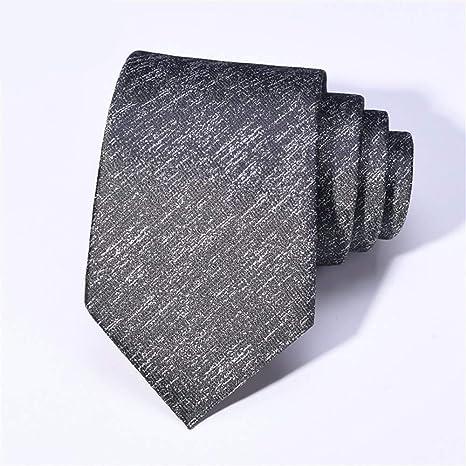 WUNDEPYTIE Corbata para Hombre Vestido De Negocios Moda con ...