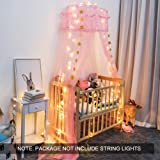 Twinkle Star Kids Netting Princess Bed Canopy 3