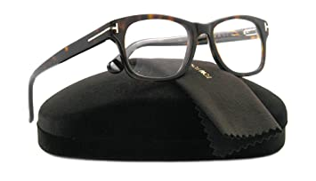 c3c3630893f1 Amazon.com: Tom Ford FT5147 Eyeglasses-052 Dark Havana-52mm: Tom ...