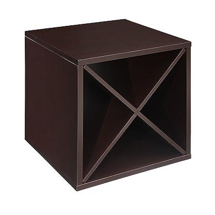 Craft and Main MOP-04192E Modular Storage Cube Espresso 15.7u0026quot; x 15.7u0026quot  sc 1 st  Amazon.com & Amazon.com: Craft and Main MOP-04192E Modular Storage Cube Espresso ...