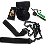 Sportsman Pocket Chainsaw 36 Inch Long Chain & FREE Fire Starter Best Compact Folding Hand Saw Tool for Survival Gear, Camping, Hunting, Tree Cutting or Emergency Kit. Replaces Your Pruning & Pole Saw
