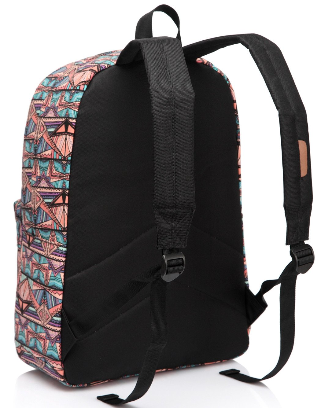 School Backpack for Teen Girls,Fashion Canvas Rucksack BookBag with Padded Laptop Sleeve by Vaschy (Image #6)