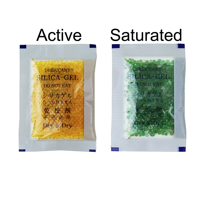 10 gram silica gel Desiccants deumidificatore 2 1//4 x 3 1//4 25 confezioni