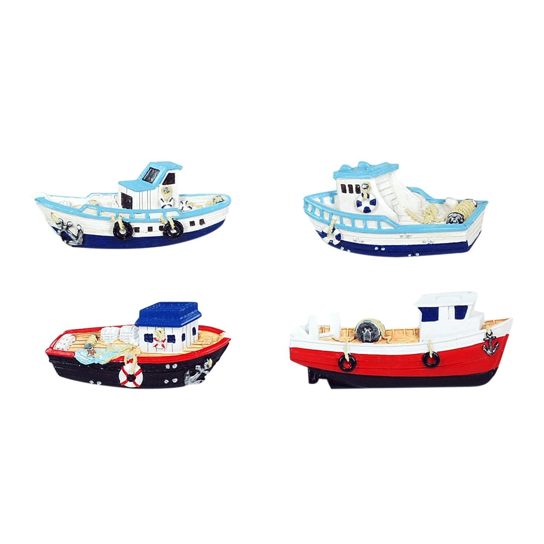 Vidal Regalos Iman de Nevera x4 Barcos 10 cm: Amazon.es: Hogar