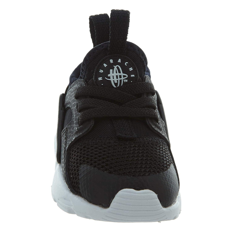 NIKE Huarache Run Ultra Ultra Ultra Toddler's schuhe schwarz Weiß 859594-002 (9 M US) b37130