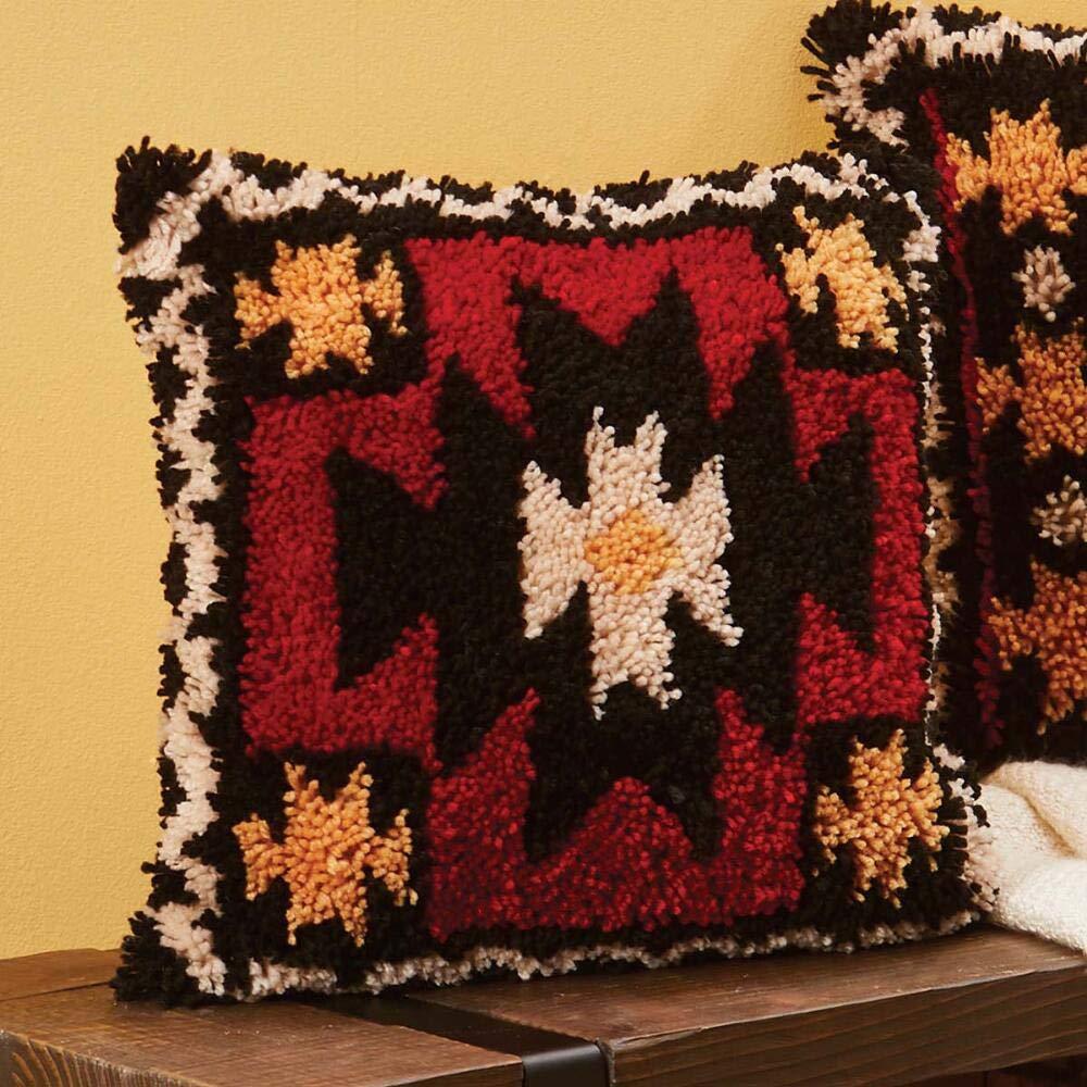Herrschners/® Southwest Art Pillow I Latch Hook Kit