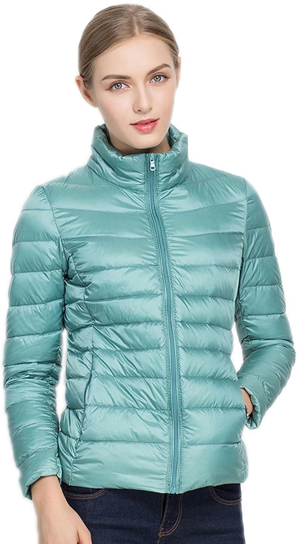 Santimon Donna Giacche Corto Piumino Cappotto Ultraleggeri Trapuntato Packable Inverno Giacca zxc016