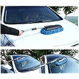 Cepillo de microfibra para lavar el coche, desmontable, mopa para dar cera
