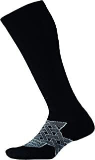 product image for thorlos mens Peou Thin Cushion Postal Compression Over the Calf Socks