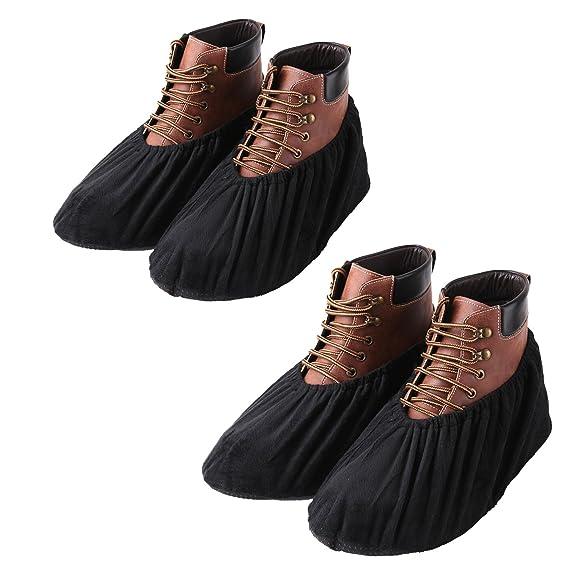 youtu Anti-Rutsch Schuhüberzieher,überschuhe überzieher Schuhüberzieher Shoe Cover Hülle,wiederverwendbar überschuhe Staubfre