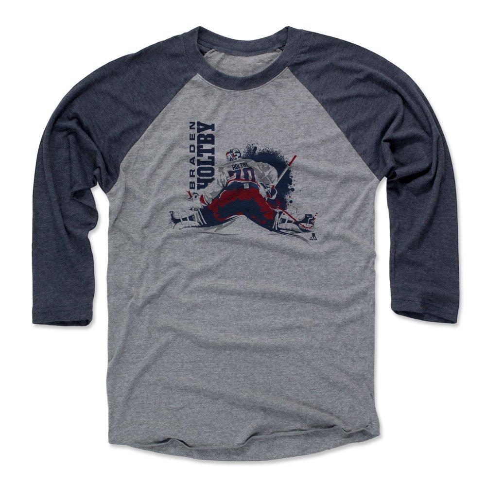 当店だけの限定モデル 500レベルのBraden Holtby Holtby保存B 3 3/ 4th野球Tシャツ 4th野球Tシャツ – ワシントンHockeyファンギアNHLの公式ライセンス選手Association – Braden Holtby保存B X-Large ネイビー/ヘザーグレー B01NCIBPO3, くらしのeショップ:5b84775e --- a0267596.xsph.ru
