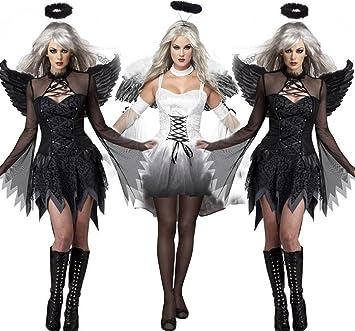 MILLY MMAlas de ángel disfraz de Halloween fantasma fantasma ...