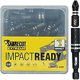 SabreCut SCRK1 - Juego de 4 brocas magnéticas de impacto (60 mm y ...