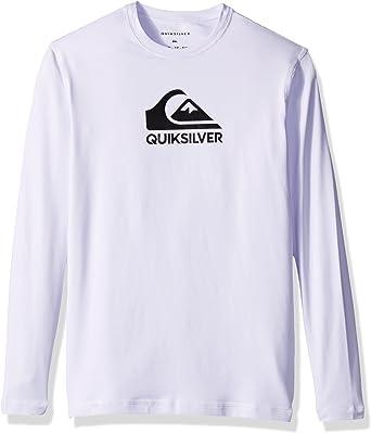 Quiksilver Varones UQBWR03038 Camisa de Neopreno - Blanco - M: Amazon.es: Ropa y accesorios