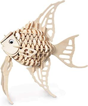 Angel Fish Kit de construction pour bois FSC