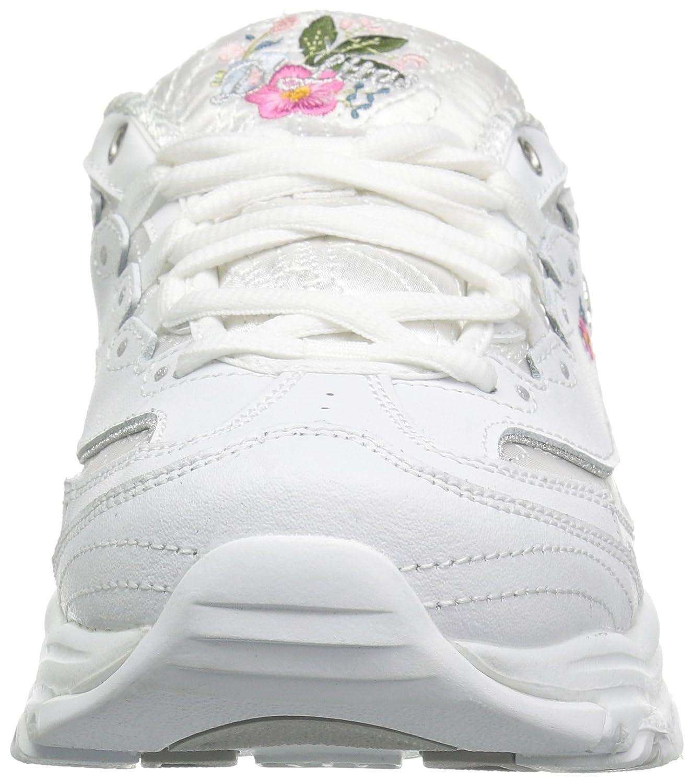 Skechers D'lites Flores Brillantes Zapatos De Las Mujeres zEVRtmnHIL