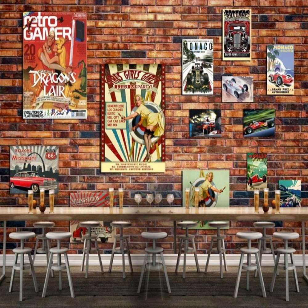 Colomac Wall Mural Poster Photo Puzzle Brick Wall ...