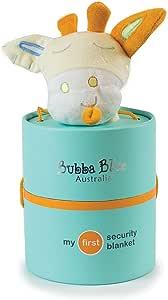 Bubba Blue Lemon Giraffe Security Blanket, Yellow