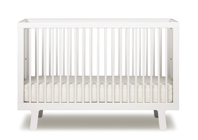 amazoncom  oeuf sparrow crib white  baby -
