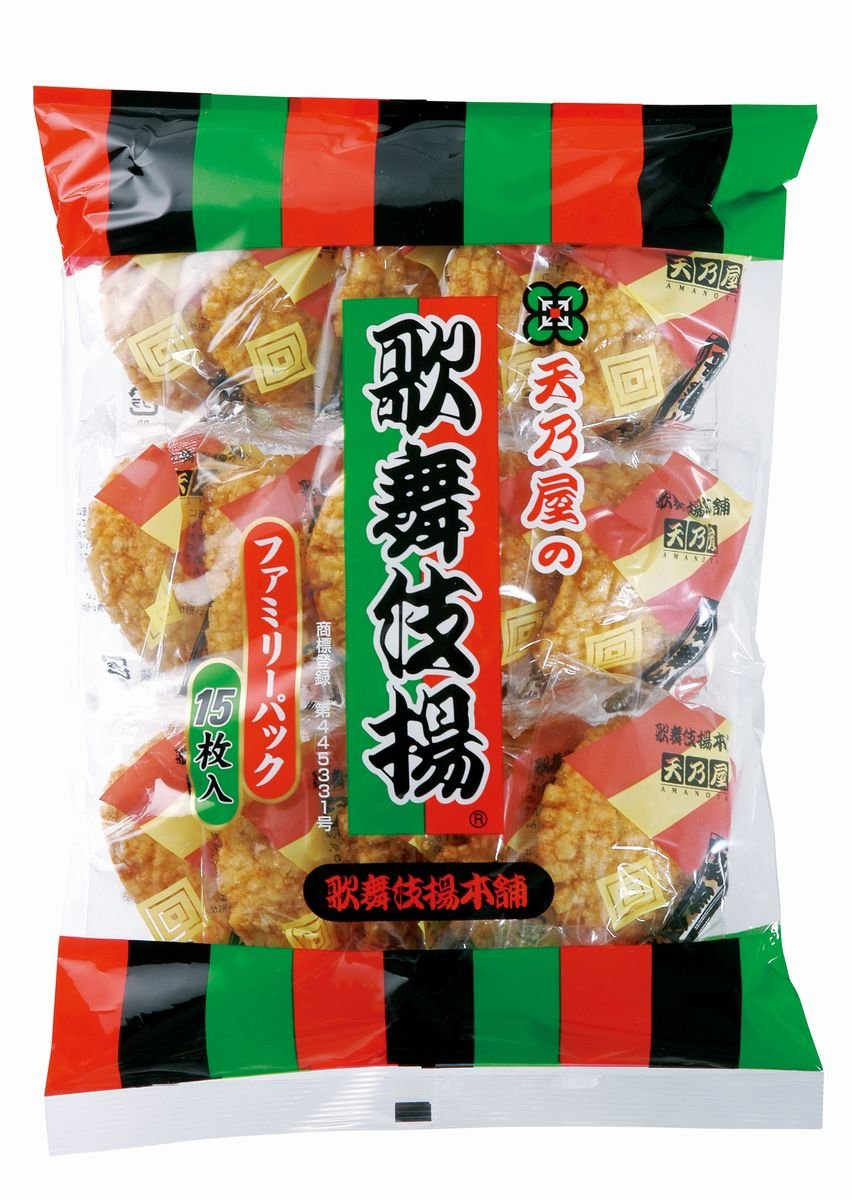 Amanoya Japanese Rice Cracker, 5.99 Ounce by Amanoya