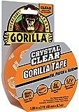 """Gorilla Crystal Clear Gorilla Tape, 1.88"""" x 9yd., Clear"""