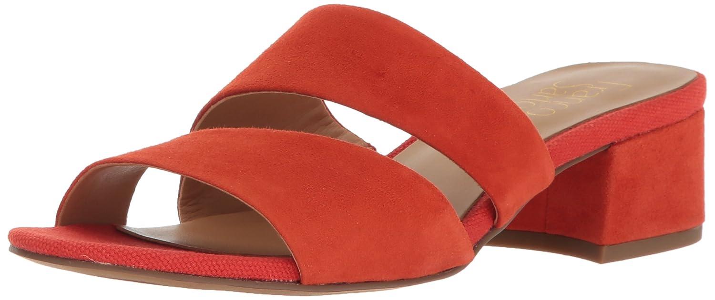Franco Sarto Women's Tallen Heeled Sandal B01MQD8VPI 6.5 B(M) US|Orange