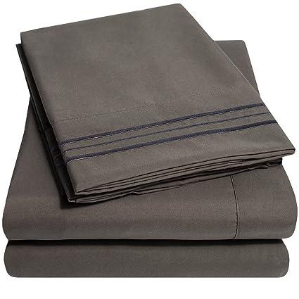 ce97c90b1ce Amazon.com  1500 Supreme Collection Extra Soft Queen Sheets Set ...