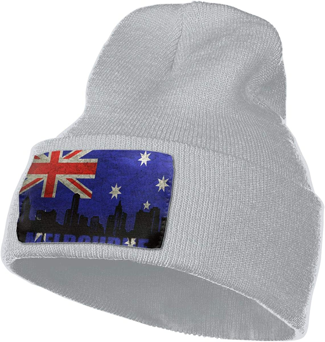 JimHappy Melbourne Architecture Hat for Men and Women Winter Warm Hats Knit Slouchy Thick Skull Cap