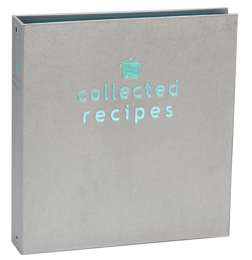Meadowsweet Kitchens Create Your Own Collected Recipes Cookbook - Turquoise & Gray
