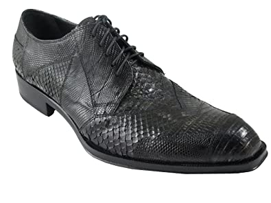26eb534345f Amazon.com | Jo Ghost 1732M Men's Shoes Luxurious Exotic Skin LACE ...
