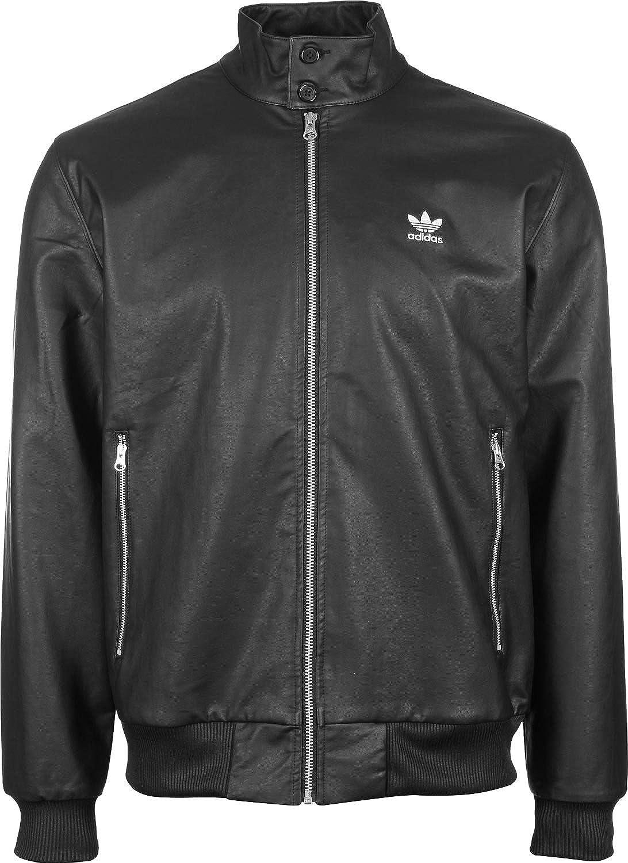 Adidas Big Logo Full Zip, Chaqueta para Hombre, Negro, XL amazon el-negro