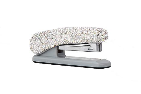 Amazon.com: TISHAA - Grapadora de escritorio con purpurina ...