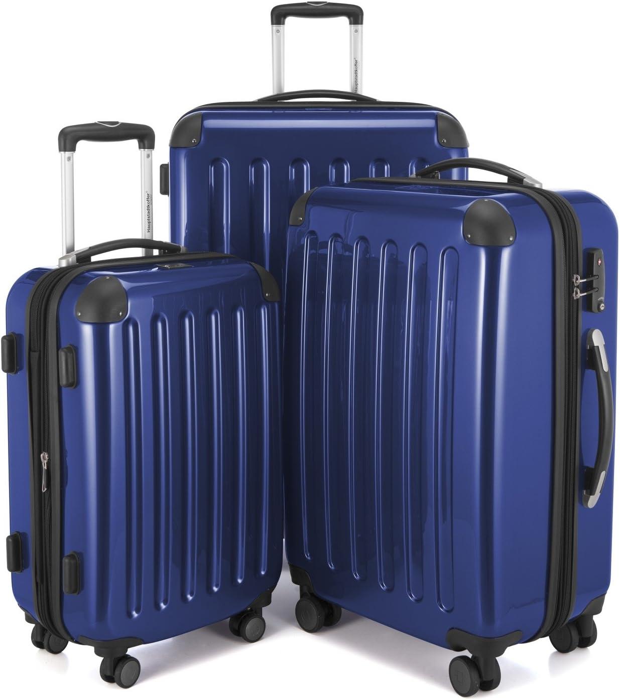 Hauptstadtkoffer Luggage Set, Dark Blue, set of 3