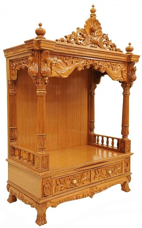 Shilpi Wooden Temple Mandir Temple For Home In Teakwood